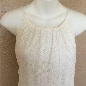 Max Studio Gorgeous White Lace Dress L